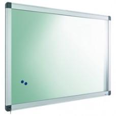 Avizier interior/exterior Recto, tabla alba magnetica, 21 x A4, 90 x 148 cm, SMIT