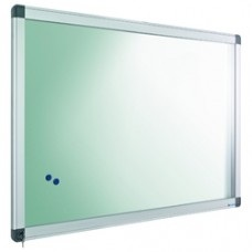 Avizier interior/exterior Recto, tabla alba magnetica, 24 x A4, 90 x 169 cm, SMIT