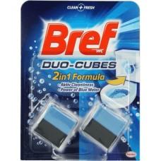 Dezinfectant toaleta Duo-Cubes Bref 2x50g
