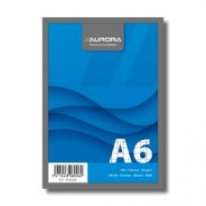 Blocnotes capsat, A6, 100 file - 60g/mp, microperforatii, AURORA Office - matematica