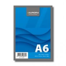 Blocnotes capsat, A6, 100 file - 60g/mp, microperforatii, AURORA Office - dictando