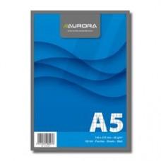 Blocnotes capsat, A5, 100 file - 60g/mp, microperforatii, AURORA Office - dictando