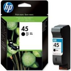 Cartus HP 45 Large Black Inkjet Print Cartridge, 42 ml, aprox. 840 pag / 5% acoperire