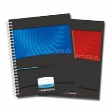 Caiet cu spirala, A5, 50 file - 90g/mp, coperti carton, AURORA Mano - dictando