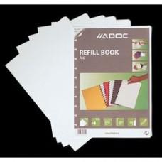 Rezerva caiet A4, 72 file - 90g/mp, AURORA Adoc - velin