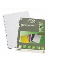 Rezerva caiet A4, 72 file - 90g/mp, AURORA Adoc - dictando