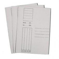 Dosar carton alb duplex simplu, 230gr