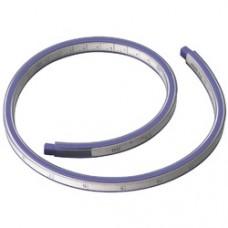 Rigla flexibila din plastic, 60cm, pentru desenat suprafete curbe, ALCO - alb/albastru