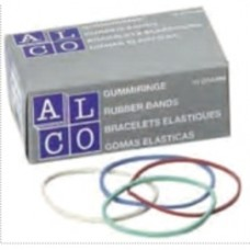 Elastice pentru bani, 1000g/cutie, D 40 x 1,5mm, ALCO