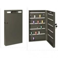 Panou metalic pentru  68 de chei, 390 x 300 x 60 mm, inchidere cu cheie, ALCO