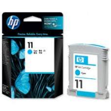 Cartus HP 11 Cyan Ink Cartridge, 28 ml, aprox. 1.750 pag / 15% acoperire
