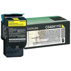 Cartus Lexmark Toner Yellow Return C540H1YG 2K Original