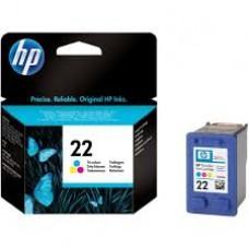 Cartus HP 22 Tri-colour Inkjet, C9352AE