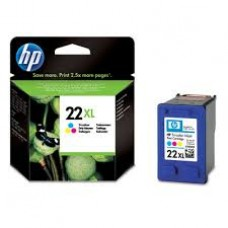 Cartus HP 22XL Tri-colour Inkjet, C9352CE