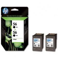 Cartus HP 56 Black Inkjet Print s 2-pack C9502AE