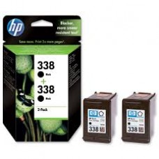 Cartus HP 338 Black Inkjet Print s 2-pack with Vivera Ink CB331EE