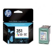Cartus HP 351 Tri-colour Inkjet Print  with Vivera Inks CB337EE
