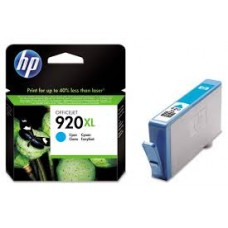 Cartus HP 920XL Cyan Officejet Ink  CD972AE