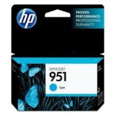 Cartus HP 951 Cyan Officejet Ink  CN050AE