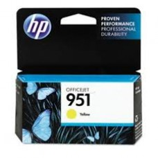Cartus HP 951 Yellow Officejet Ink  CN052AE