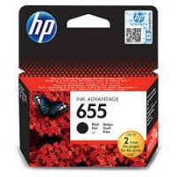 Cartus HP 655 Black Ink  CZ109AE