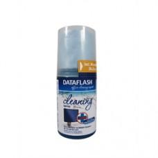 Spray dezinfectant curatare monitoare LCD/notebook, 200ml, + laveta microfiber 20 x 20cm, DATA FLASH