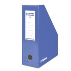 Suport vertical pentru cataloage, A4 - 10cm latime, din carton laminat, DONAU - albastru