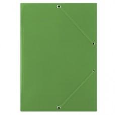 Mapa din carton plastifiat, cu elastic pe colturi, 400gsm, DONAU - verde