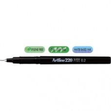 Liner ARTLINE 220, varf fetru 0.2mm - negru