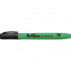 Textmarker ARTLINE Supreme, varf tesit 1.0-4.0mm - verde fluorescent