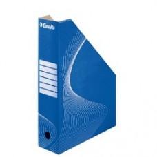 Suport vertical ESSELTE Standard pentru cataloage, din carton - albastru