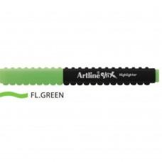 Textmarker ARTLINE Stix, varf tesit 1.0-4.0mm - verde fluorescent