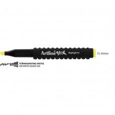 Textmarker ARTLINE Stix, varf tesit 1.0-4.0mm - galben fluorescent