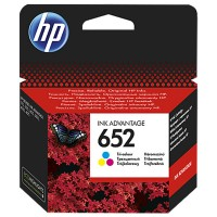 Cartus HP 652 Tri-color Original Ink Advantage Cartridge (~200 pag)