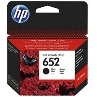 Cartus HP 652 Black Original Ink Advantage Cartridge (~360 pag)
