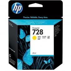 Cartus HP 728 40-ml Yellow DesignJet Ink Cartridge