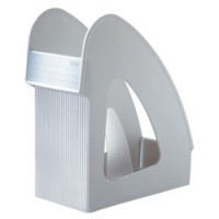Suport vertical plastic pentru cataloage HAN Galaxy - gri deschis