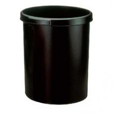 Cos de birou pentru hartii, 18 litri, HAN Grip - negru