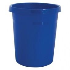Cos de birou pentru hartii, 18 litri, HAN Grip - albastru