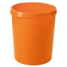 Cos de birou pentru hartii, 18 litri, HAN Grip Trend-Colours - orange