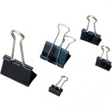Clip hartie 41mm, 12buc/cutie, ARTIGLIO - negru