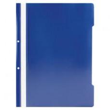Dosar din plastic cu sina albastru
