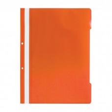 Dosar din plastic cu sina orange
