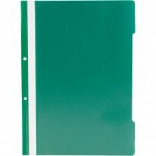 Dosar din plastic cu sina verde