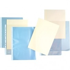 """Folie  protectie """"L"""" pentru documente A4, 140 microni, KANGARO - cristal"""