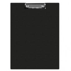 Clipboard dublu A4, plastifiat PVC, Q-Connect - negru