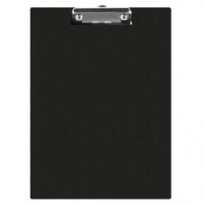 Clipboard simplu A5, plastifiat PVC, Q-Connect - negru