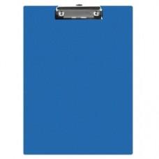 Clipboard simplu A5, plastifiat PVC, Q-Connect - albastru