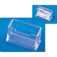 Suport plastic pentru 12 instrumente de scris,  KEJEA - transparent cristal