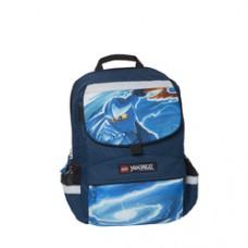 Ghiozdan scoala Starter Plus LEGO Core Line - design albastru NinjaGo Jay